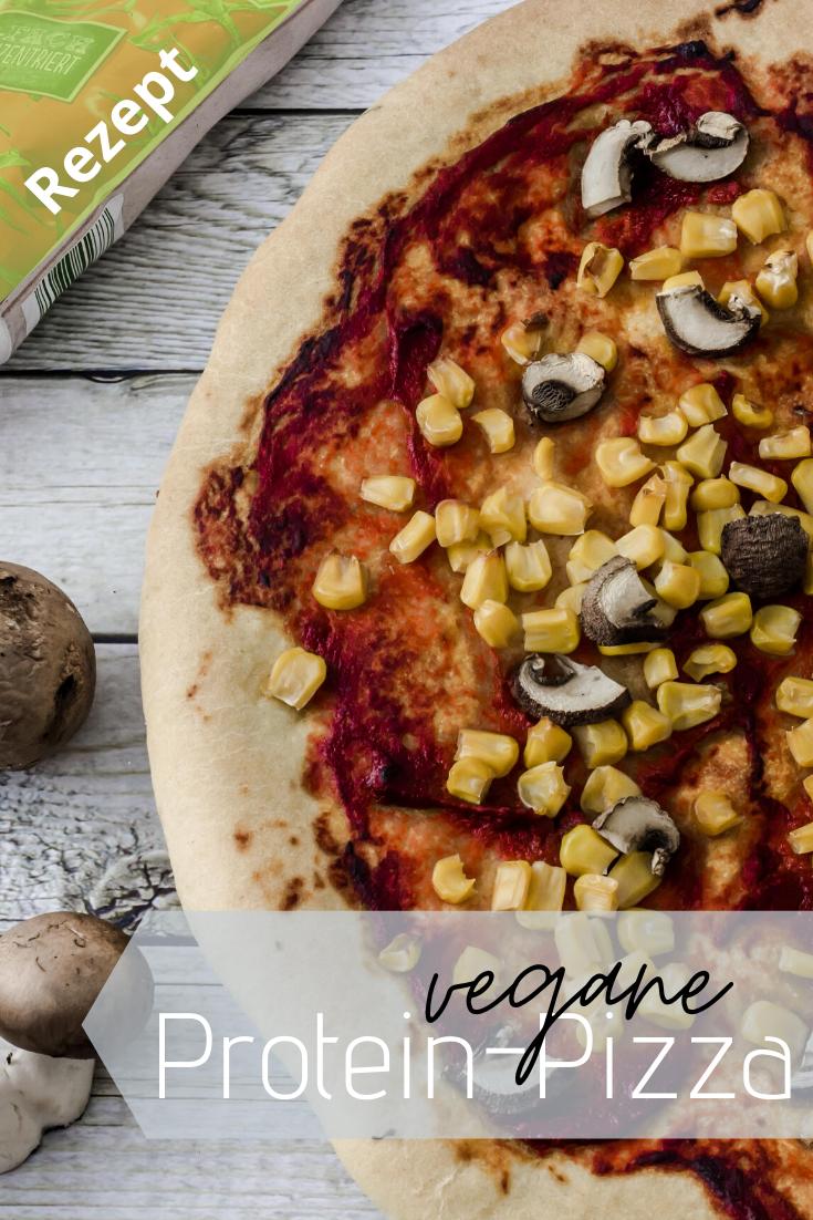 Vegane Protein Pizza In 2020 Rezepte Pizza Rezept Pizza