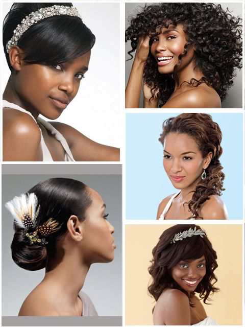 african american brides . straight