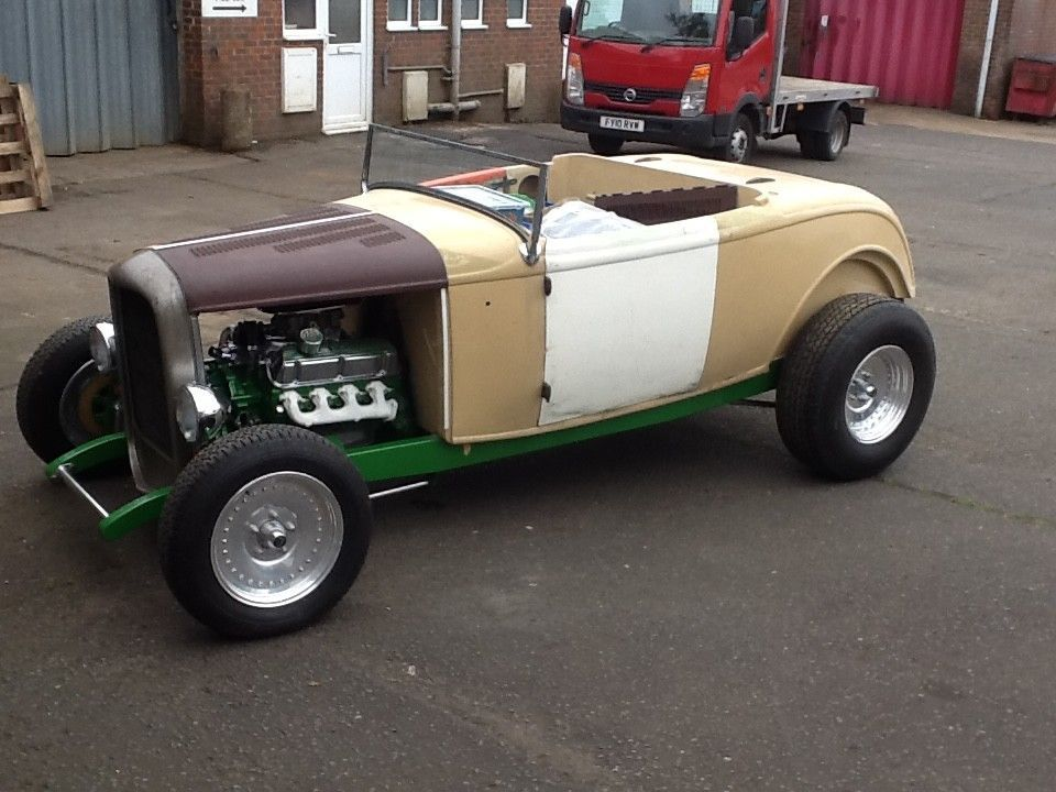 1932 ford model b hot rod unfinished project barnfind | 1932 ford ...