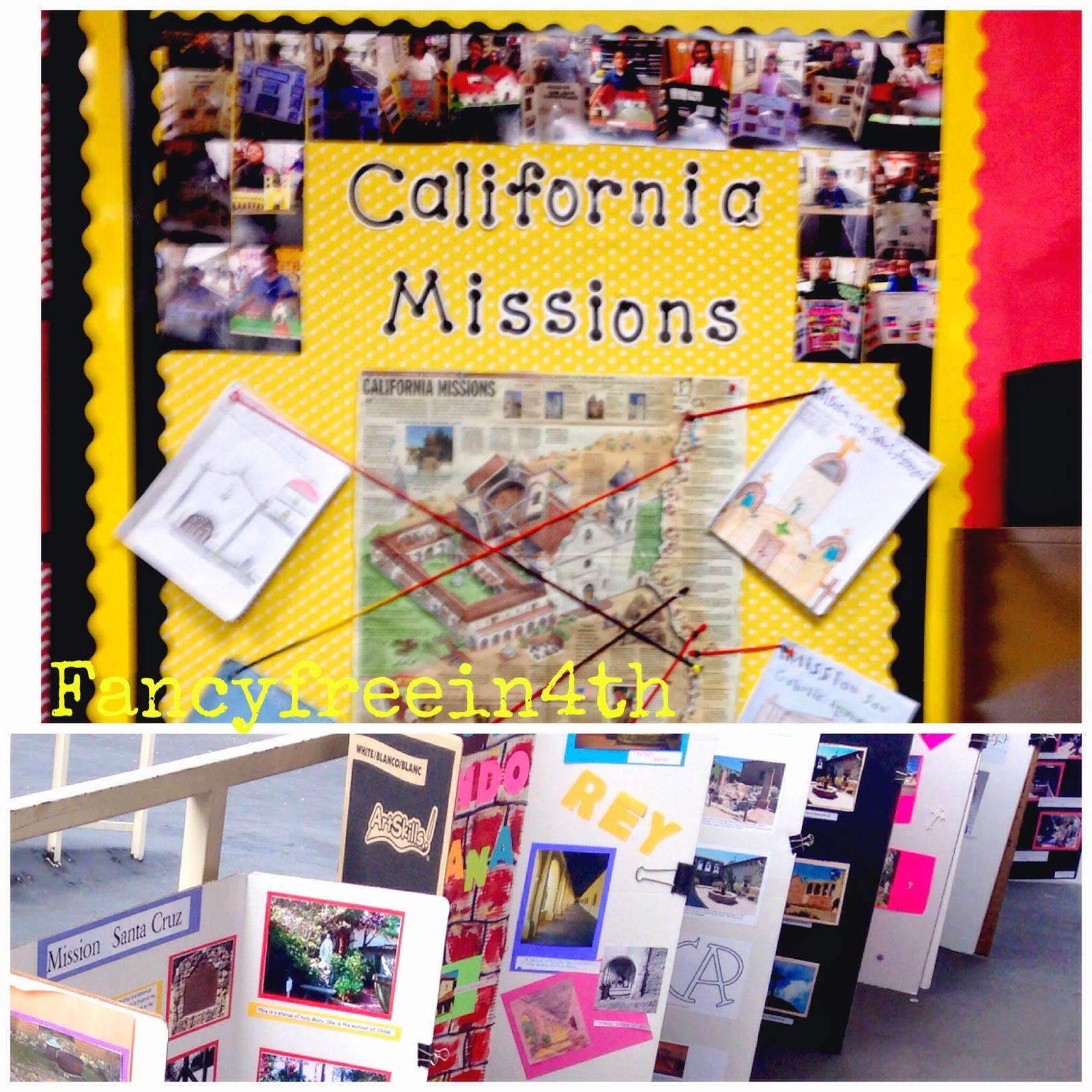 California Missons 4th Grade Social Stu S Fancy Free In