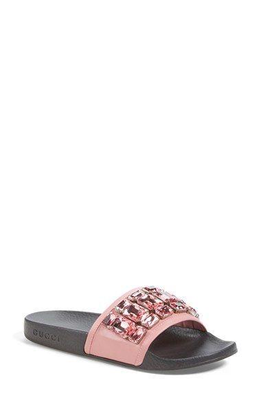 dffcec20ce184 Gucci  Pursuit  Slide Sandal (Women) available at  Nordstrom ...