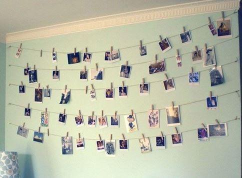 Versier je muur met de leukste fotos huis pinterest room