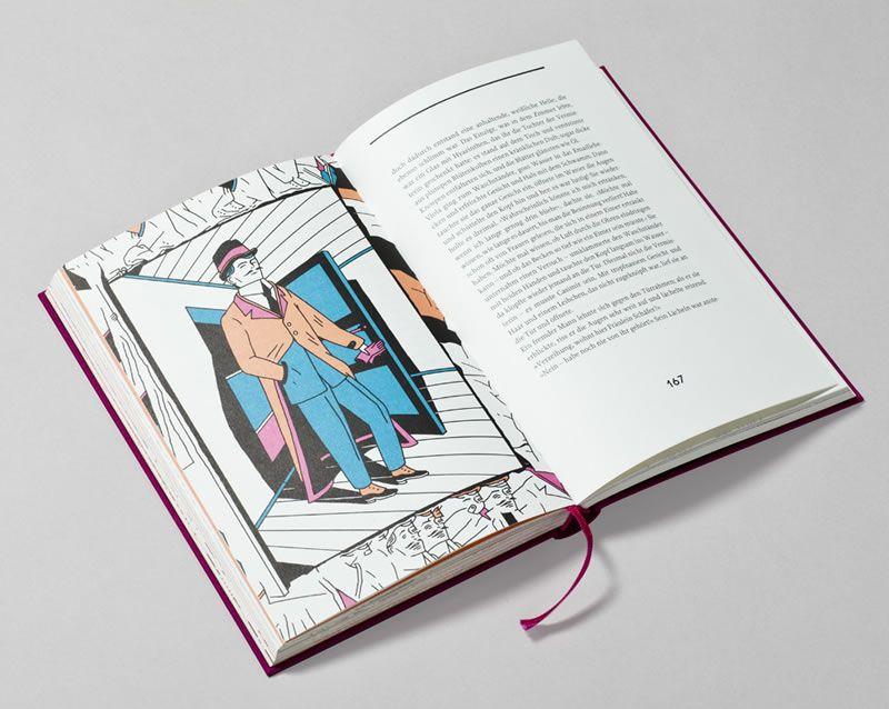 In einer deutschen Pension, illustriert von Joe Villion, Büchergilde 2013