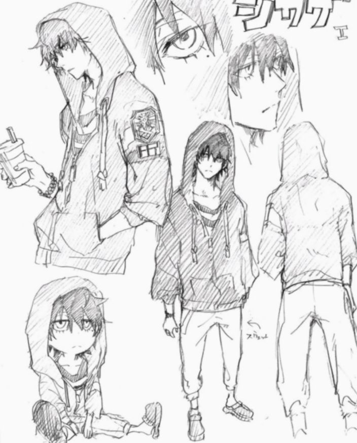6 Anime Sketch Guy Character Design Anime Character Design Character Design References Cartoon Drawings