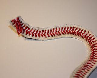 I Can Find The Time: Baseball String Bracelet