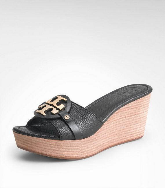55a525e708f894 Tory Burch Wedges for Women