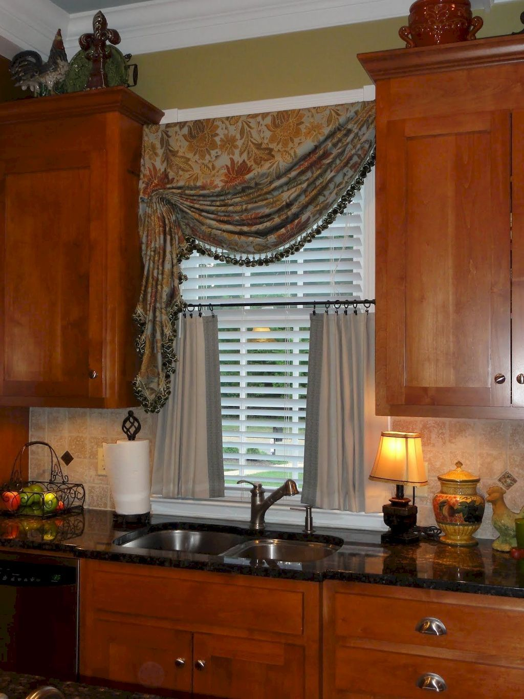 Finding the Best Easiest Window Treatment Ever Home to Z   Kitchen ...