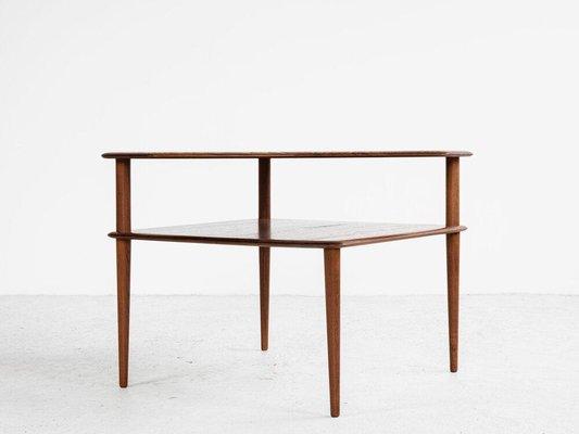 Corner Table In Teak By Hvidt Molgaard For Cado 1960s In 2020 Corner Table Teak Table