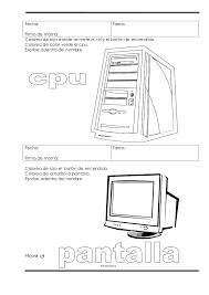 Resultado De Imagen Para Monitor Para Colorear