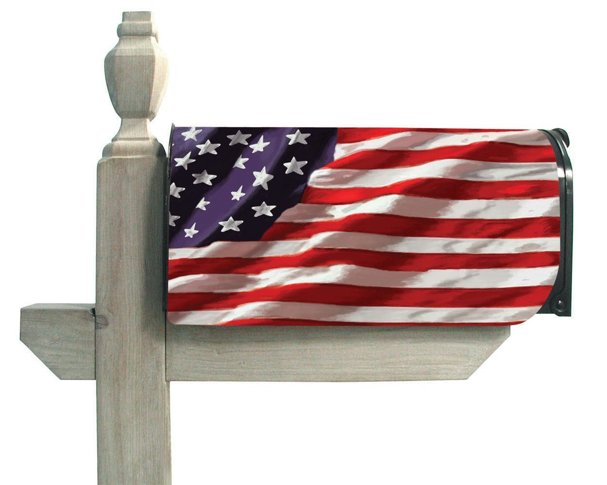 metal mailbox flag. Evergreen Magnetic Mailbox Cover America In Motion USA Flag Patriotic 56002 Metal R