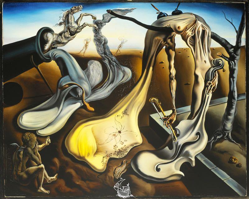 Araignee Du Soir Espoir Catalogue Raisonne De Peinture Fondation Gala Salvador Dali L Art Salvador Dali Peintures Dali Peintures De Salvador Dali