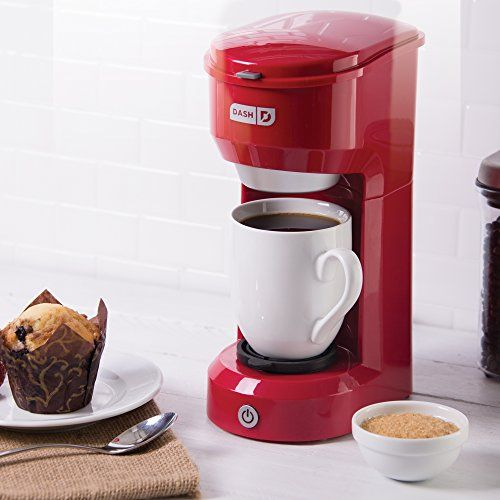 Dash Dpc100rd Single Cup Drip Coffee Maker Red Learn More By