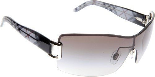 1844c6b11c Burberry BE3043 Sunglasses-1084 11 Silver (Gray Gradient Lens)-131mm  BURBERRY