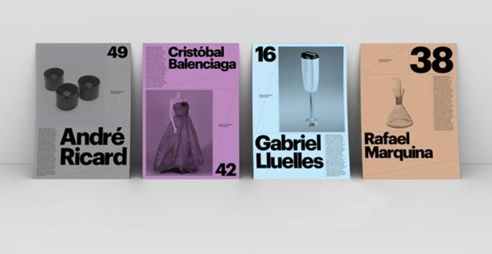 design gráfico - exposição - minimalista -