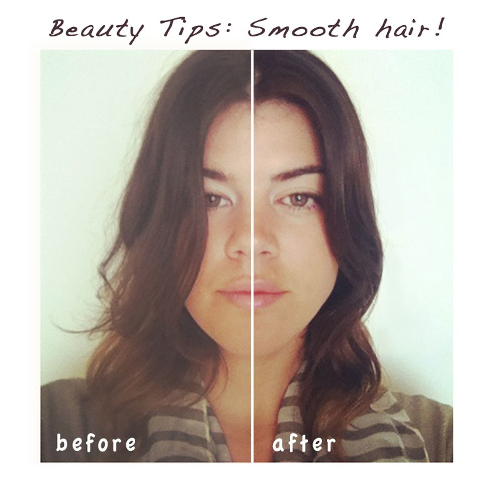 Use This Oil Before Coloring Your Hair: Before & After Pics Using Jojoba Oil For Frizzy Hair! So