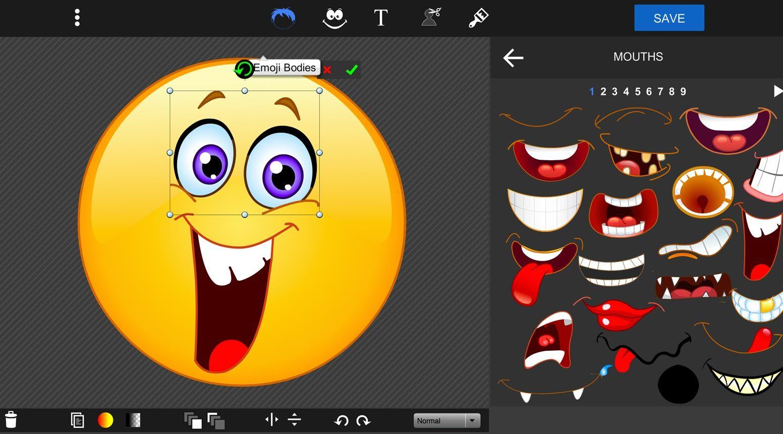 Online Emoji Maker Design Your Own Emoji Pizap Cute Wallpapers Quotes Collage Maker Iphone Wallpaper Vintage