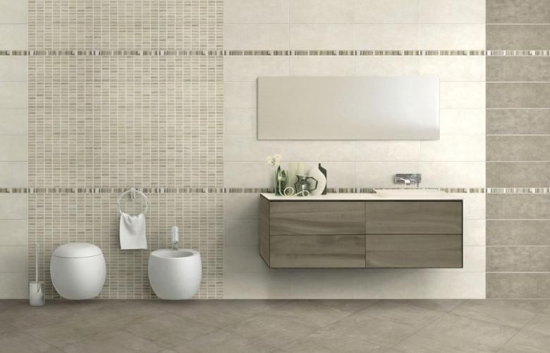 rivestimento bagno avorio - Cerca con Google | idee bagno ...