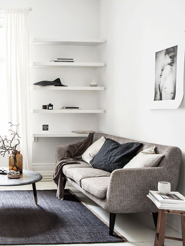 15 Stylish Sofas For Small Spaces That Still Feel Like Big Comfy Couches Sofas For Small Spaces Black Furniture Living Room Couches Living Room Comfy