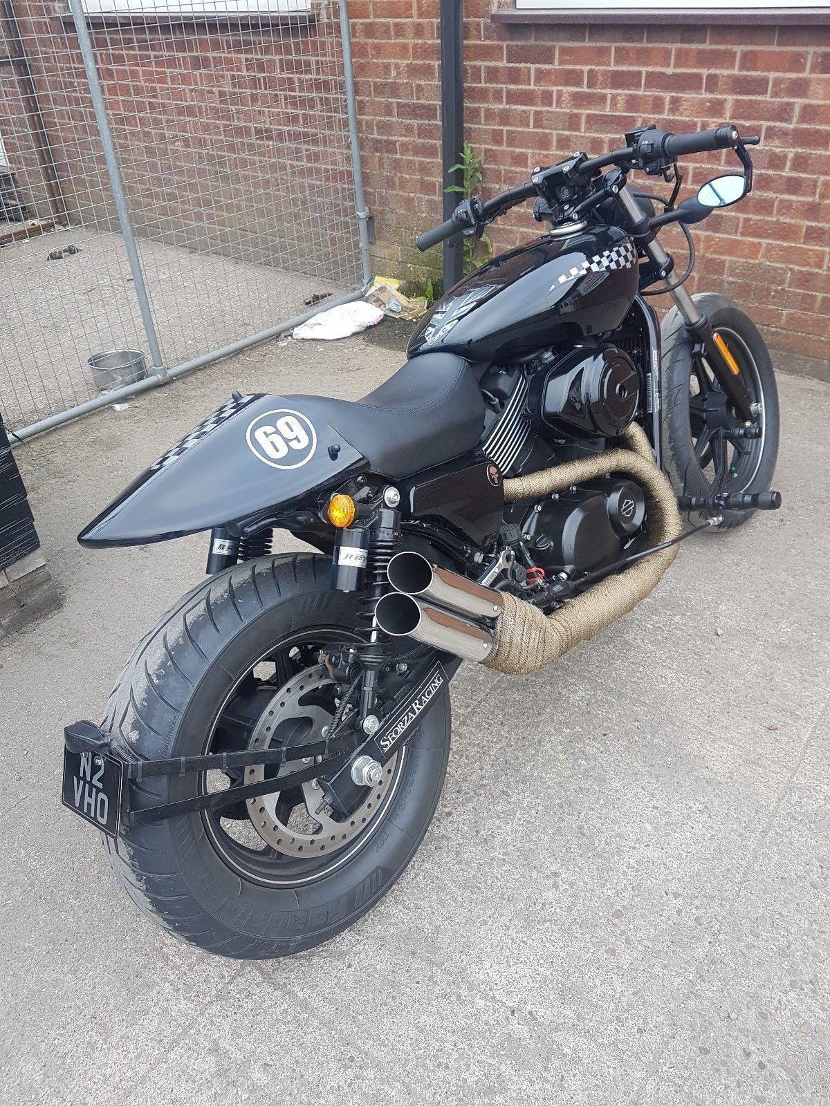 Harley Davidson Custom Street Xg750 Cafe Racer 2016 Harley Davidson Bikes Harley Davidson Street Harley Davidson Helmets