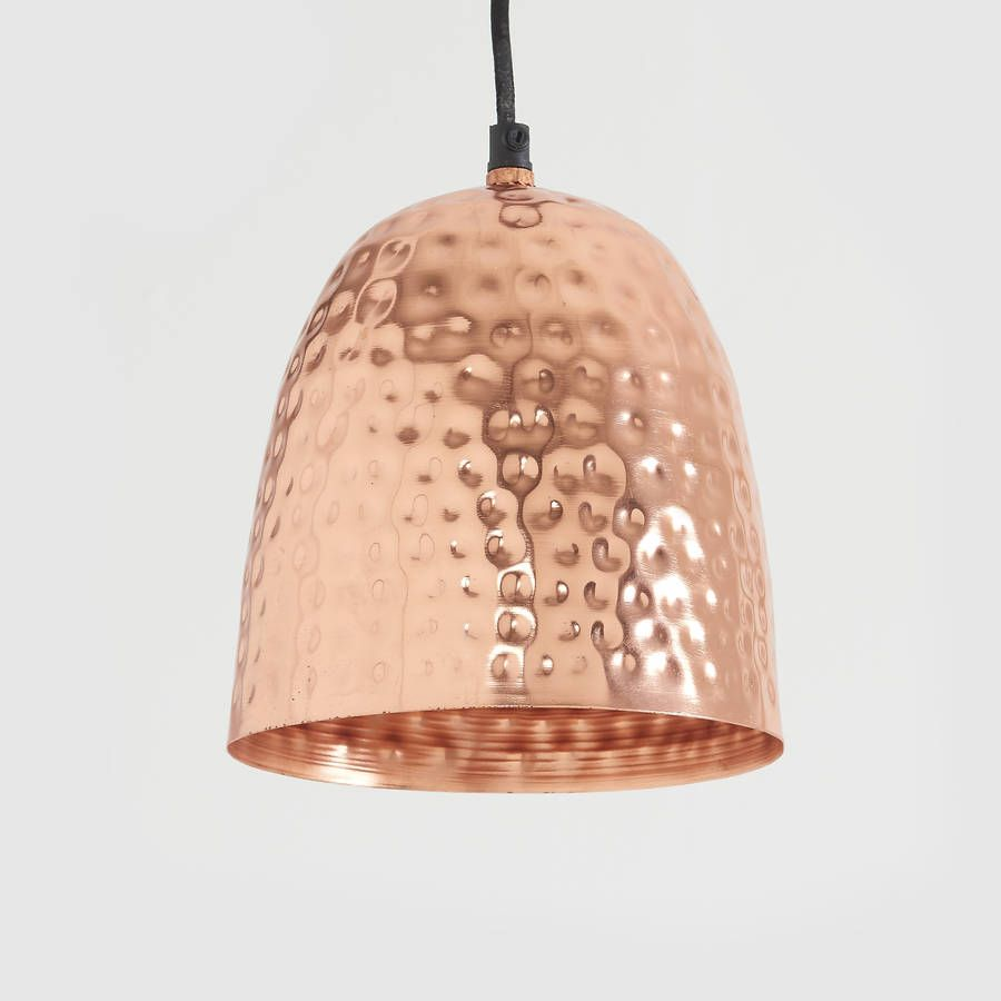 Hammered copper pendant light hammered copper pendant lighting hammered copper pendant light aloadofball Image collections