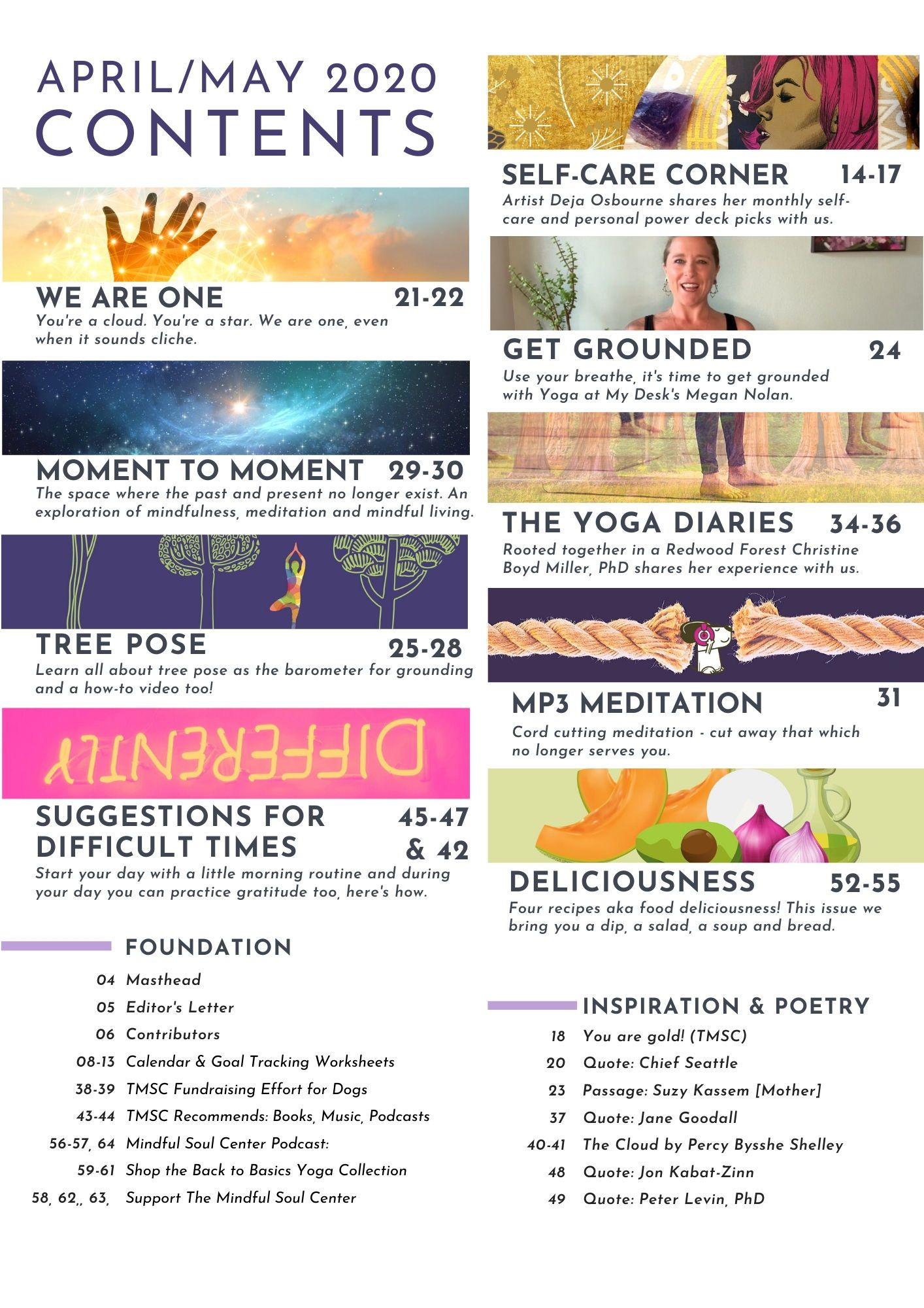 Mindful Soul Center Magazine Issue No 4 In