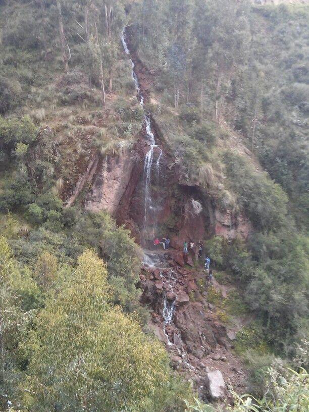 Catarata en Ayacucho