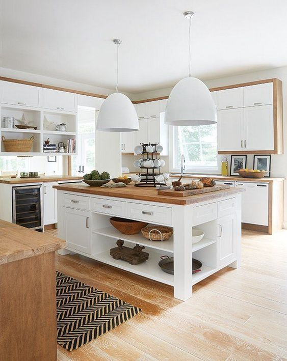 Ideen für Kücheninseln als Inspiration für Ihre eigene Traumküche. diy pai ...,  #als #DIY #d... #islanddecorating