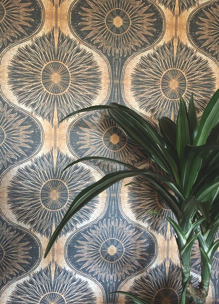 Gold Black Bibana Wallpaper By Anna Hayman Design From Woodchip Magnolia