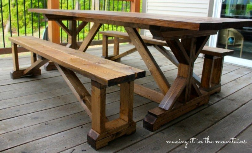 DIY Pottery Barn Inspired Table | Granero de la cerámica, La ...
