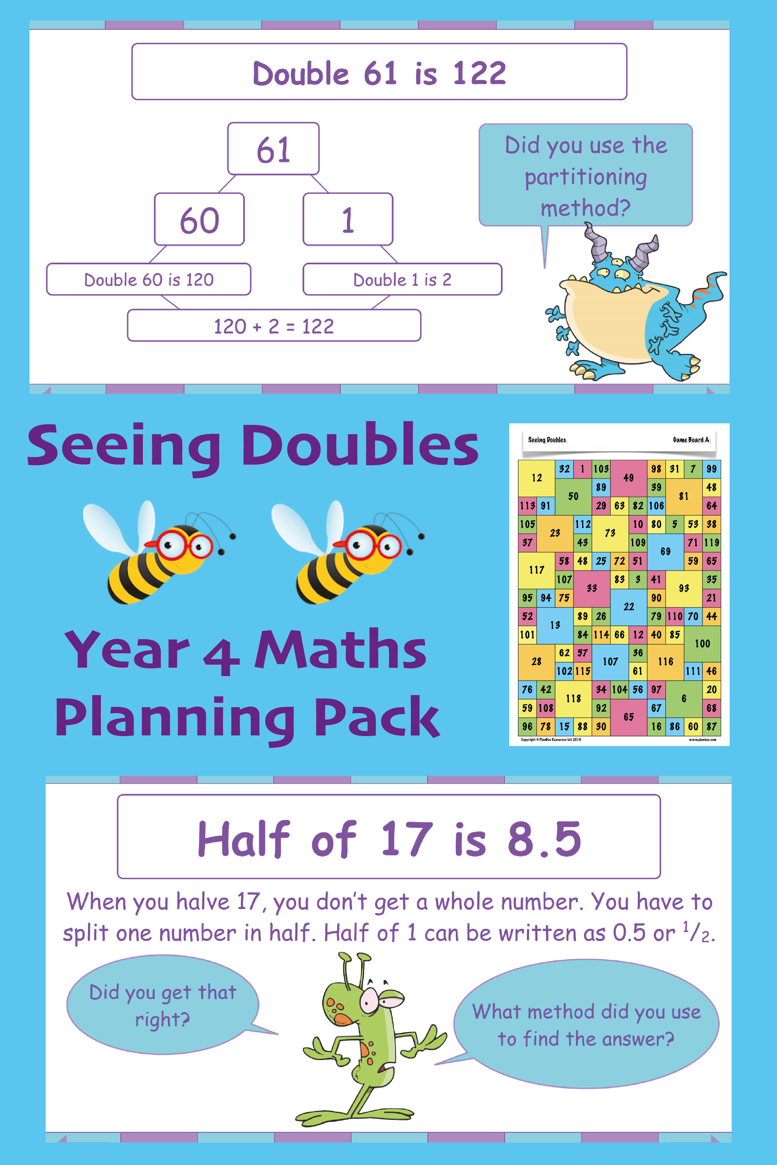 medium resolution of Seeing Doubles   Doubling and halving