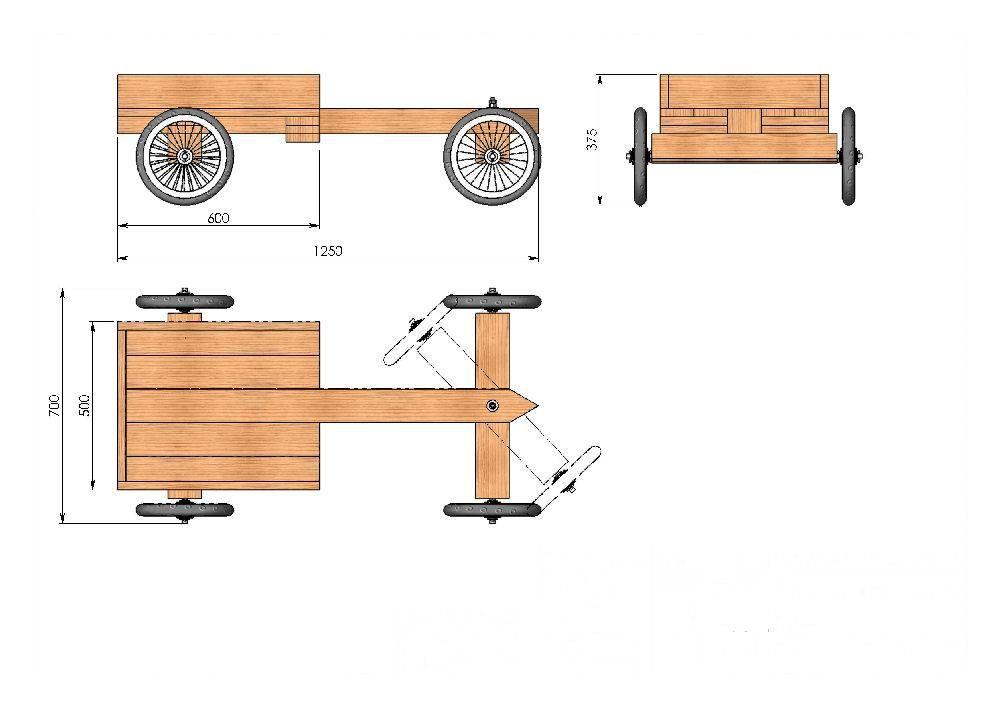 Gratis bouwtekeningen voor een zeepkist auto for Zelf meubels maken van hout