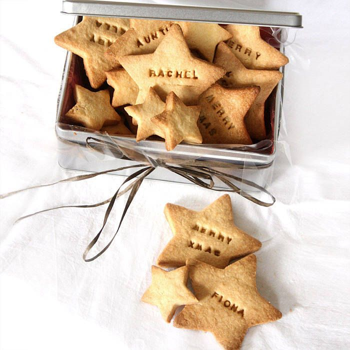 Personalised Christmas Biscuits Made With Love In 2019 Christmas