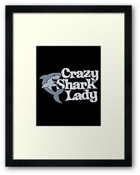 Crazy Shark lady