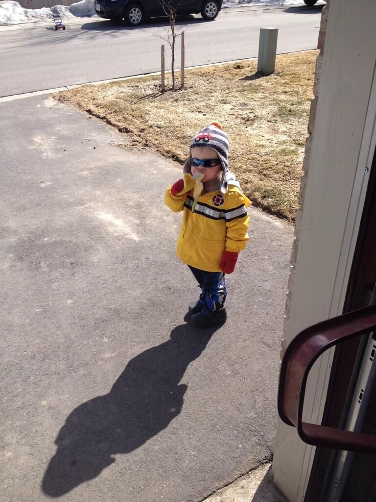 Reddit Goes Bananas Over Little Boy's Curious Request