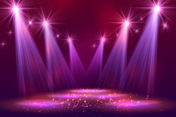 Spotlights On Stage With Smoke Light Photoshop Backgrounds Free Banner Background Images Dance Background
