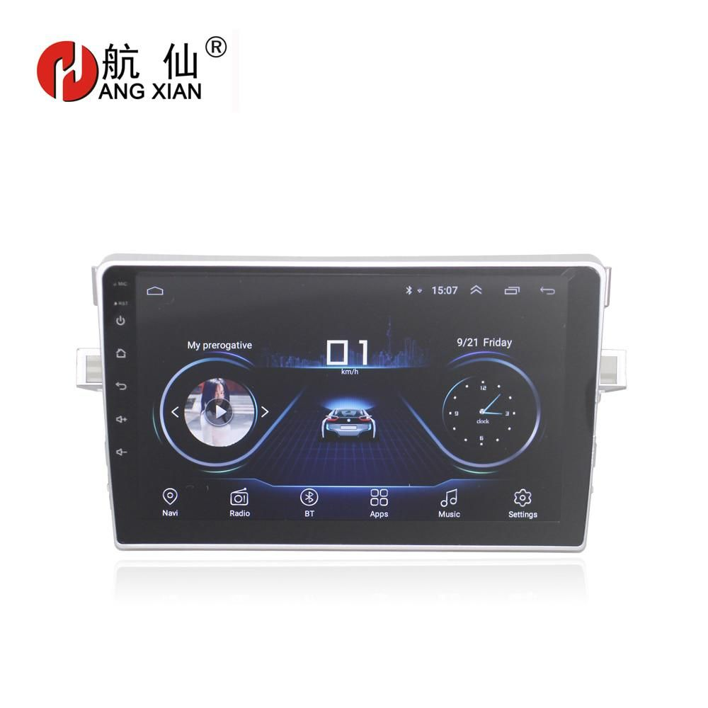 """HANG XIAN 9"""" Quadcore Android 8.1 Car radio for Toyota"""