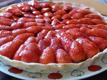 Tarte aux fraises acidulée de Philippe Conticini