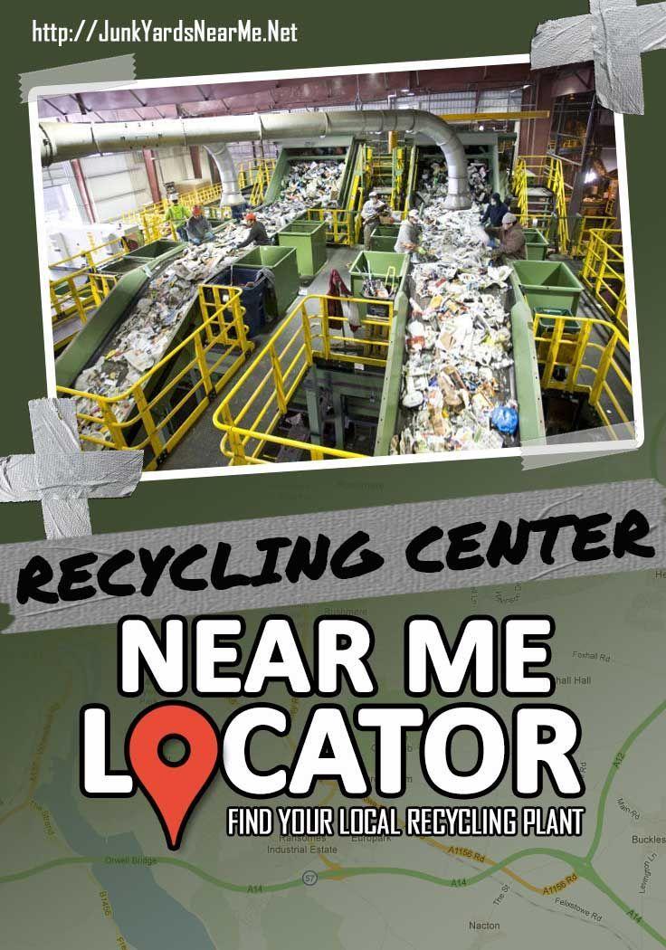 Recycling Center Near Me [Locator Map + Guide + FAQ
