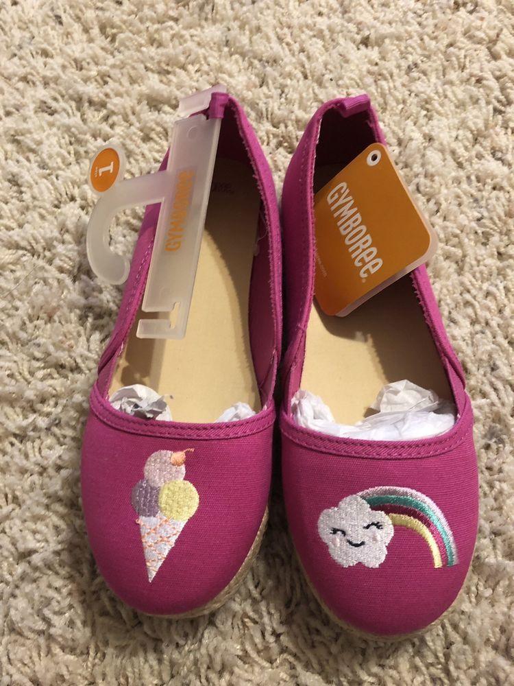 Gymboree Shoes Girls Size 1 New Color