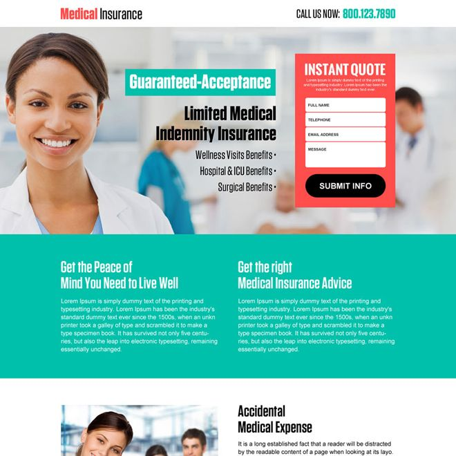 Mobile Responsive Landing Page Design Templates For Marketing