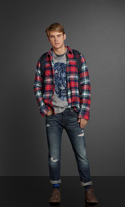 A&F Looks   Abercrombie.com   Fashion   Mens fashion ...
