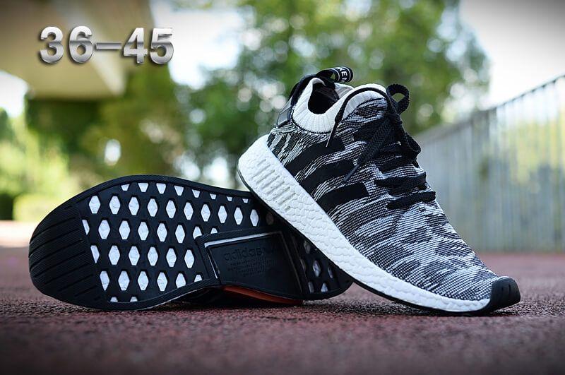 Fashion Casual Shoes NMD R Series Black 007 36-45  fb2807a9c