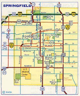 Springfield Mo Springfield Move Pinterest Missouri Places