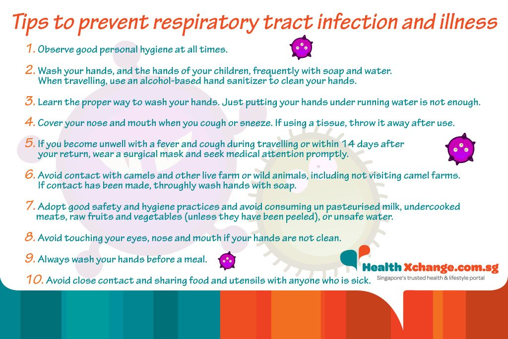 Tips To Prevent Respiratory Tract Infection And Illness