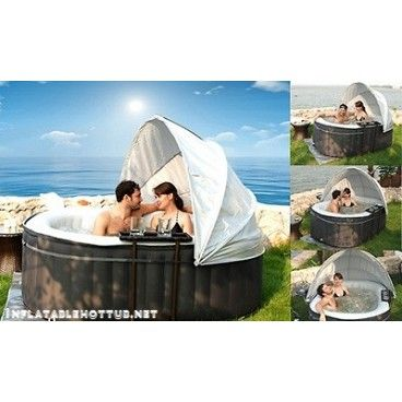 MSPA Inflatable Hot Tub Canopy  sc 1 st  Pinterest & MSPA Inflatable Hot Tub Canopy | Spa Accessories | Pinterest | Hot ...
