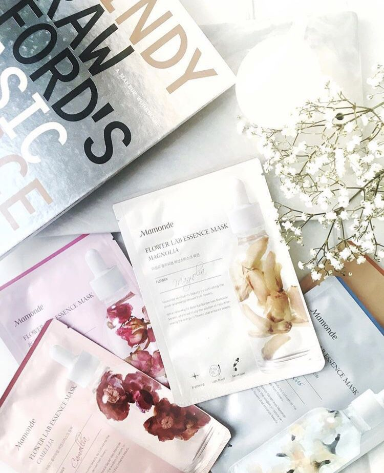 Kết quả hình ảnh cho Mamonde Flower Lab Essence Sheet Masks