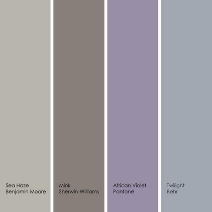 neutral bedroom design scheme presenting large   Image result for gray violet mocha bathroom   House colors ...