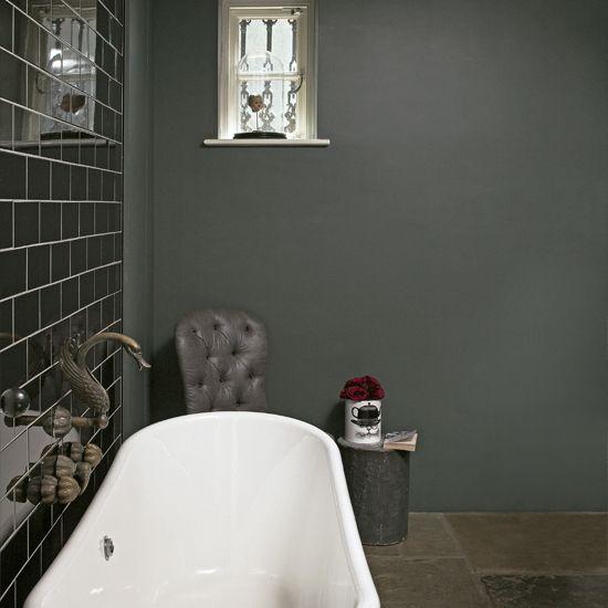 grey metro tile bathroom - Bathroom Ideas Metro Tiles