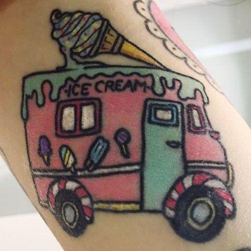Melanie Martinez Tattoos Diy Tattoo Summer Tattoo Truck Tattoo