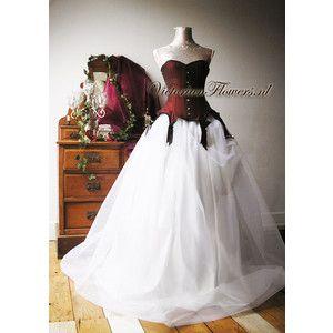 victorian corset wedding dress - Google Search